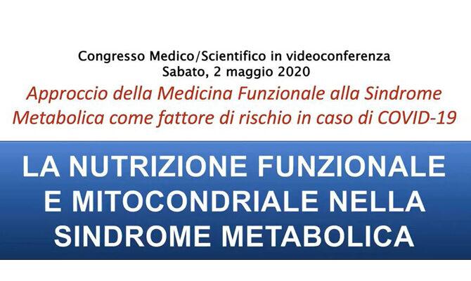La Nutrizione Funzionale e Mitocondriale nella Sindrome Metabolica